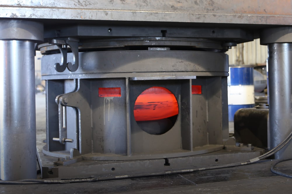 Hot-Formed Tank Heads in Manufacture by Baker Tankhead